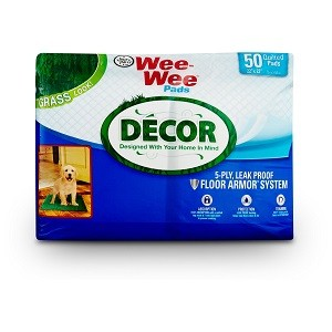 Four Paws Wee Wee Pads Grass Decor - 50pk