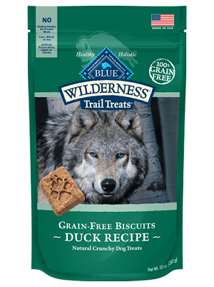 Blue Wilderness Biscuits GF Duck - 10oz
