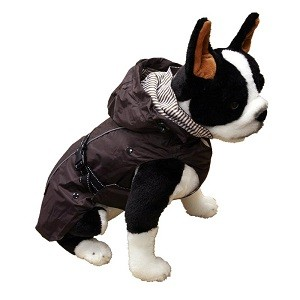 One for Pets All Weather Dog Coat - Brown