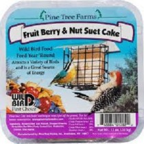 Pine Tree Farms - Fruit Berry & Nut Suet Cake