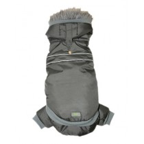 GoFresh 2pc Dog Snowsuit - Charcoal Grey