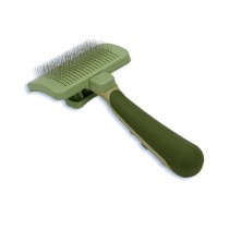 Safari W417 Self-Cleaning Slicker Brush - Medium
