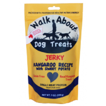 Walk About Dog Treats - Kangaroo Jerky 200g