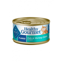 Blue Healthy Gourmet Flaked Fish & Shrimp Cat Food