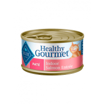 Blue Healthy Gourmet Pate Indoor Salmon Cat Food