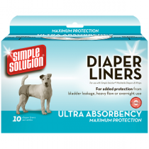 Simple Solutions Diaper Liners 10pk Large