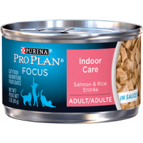 ProPlan Indoor Care Salmon & Rice 3oz Cat Food