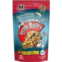Benny Bullys Cat Treats - Plus Fish 25gm