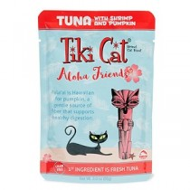 Tiki Cat Aloha Friends Tuna/Shrimp/Pumpkin Pouch
