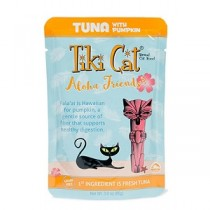 Tiki Cat Aloha Friends Tuna/Pumpkin Pouch
