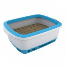 Cateco Self Drying Litter Box - Blue