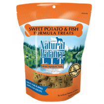 Natural Balance LIT Sweet Potato & Fish Treat 14oz