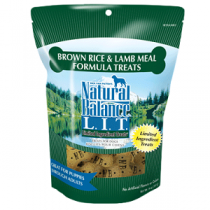 Natural Balance LIT Brown Rice & Lamb Treat 14oz