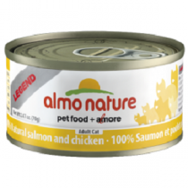 Almo Legend Salmon & Chicken 70g Can