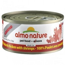 Almo Legend Chicken & Shrimps 70g Can