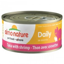 Almo Daily Tuna w/Shrimp 70g Cat Food