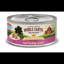 Whole Earth Farms GF Real Turkey 5oz Cat Food
