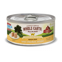 Whole Earth Farms GF Real Chicken 5oz Cat Food