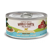 Whole Earth Farms GF Chicken Morsels 5oz Cat Food