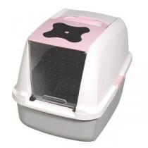 CatIt Hooded Litter Pan - Pink