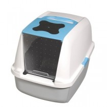 Catit Hooded Litter Pan - Blue