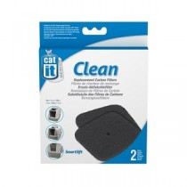 Catit Hooded Pan Replacement Carbon Filters - 2pk