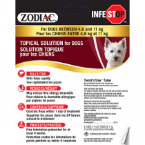 Zodiac Infestop for Dogs between 4.6kg-11kg
