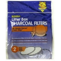 Booda Litter Box Charcoal Filters 2pk