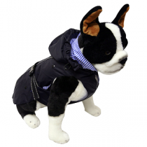 One for Pets All Weather Dog Coat - Navy Blue