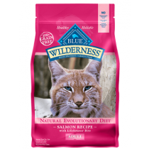 Blue Wilderness Grain Free Adult Salmon Cat Food
