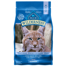 Blue Wilderness Grain Free Indoor Adult Cat Food