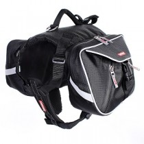 Summit Dog Backpack Black and Charcoal