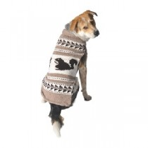 Chilly Dog Sweater - Nordic Cowichan Squirrels