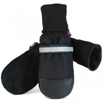 Muttluks - Fleece Lined Dog Boots Black