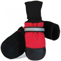 Muttluks - Fleece Lined Dog Boots Red