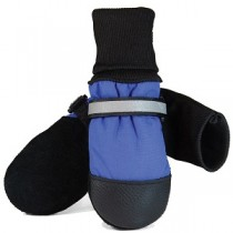 Muttluks - Fleece Lined Dog Boots Blue