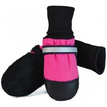 Muttluks - Fleece Lined Dog Boots Pink