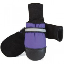 Muttluks - Fleece Lined Dog Boots Purple