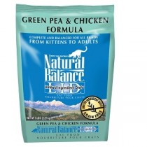 Natural Balance LID Green Pea & Chicken Cat Food