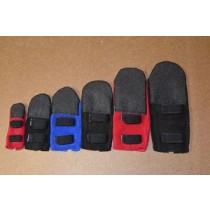 Paw-Fect Winter Dog Boots - Set of 4 - Red